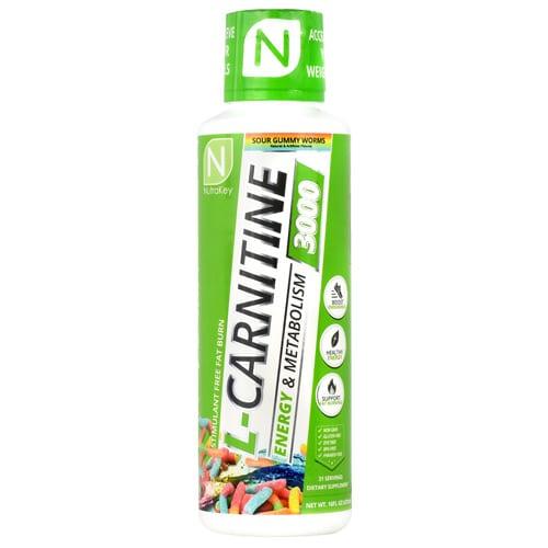 Nutrakey LIQ LCARN 3000 SOUR GUMMY 31/S