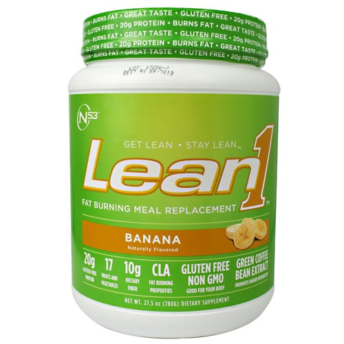 Nutrition 53 LEAN 1 PLANT  BANANA 2LB