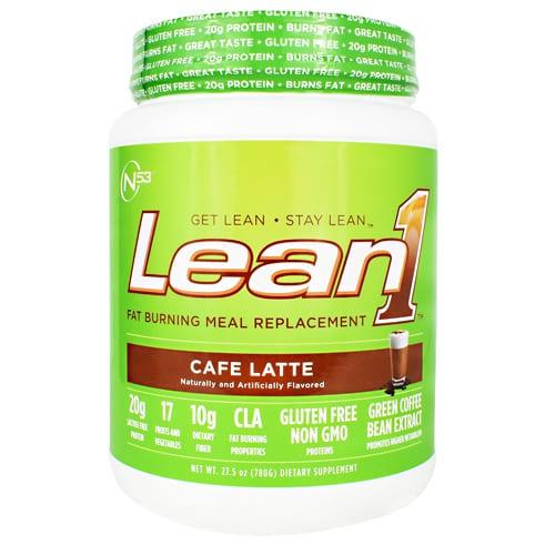 Nutrition 53 LEAN 1 CAFE LATTE 2LB