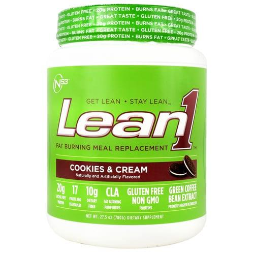 Nutrition 53 LEAN 1 COOKIES&CRM 10/SERVINGS