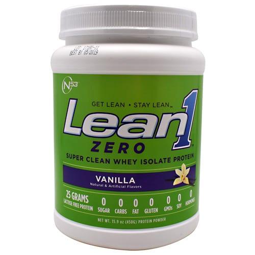 Nutrition 53 LEAN 1 ZERO VANILLA 15/SRV