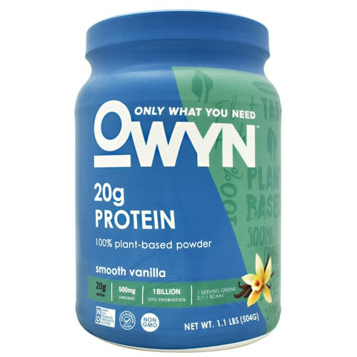 Only What You Need OWYN PLANT PRTN VANILLA 1.1LB