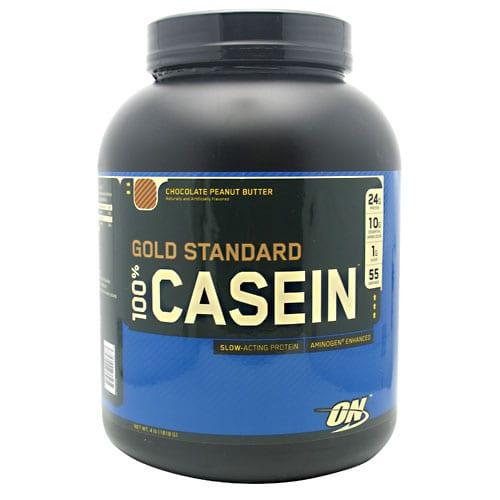 Optimum Nutrition 100% CASEIN PROTEIN CHC PB 2LB