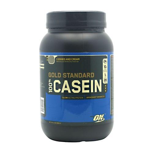 Optimum Nutrition 100% CASEIN COOKIE AND CRM 4LB
