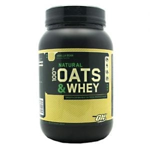 Optimum Nutrition 100% NATURAL WHEY&OATS VAN 3LB