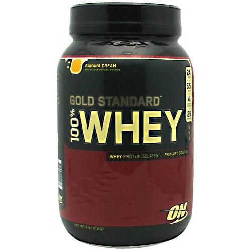 Optimum Nutrition 100% WHEY GOLD BANANA CRM 5LB