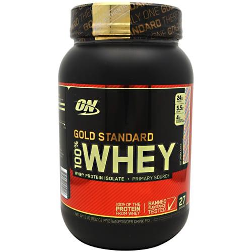 Optimum Nutrition 100% WHEY GOLD BDAY CAKE 2LB