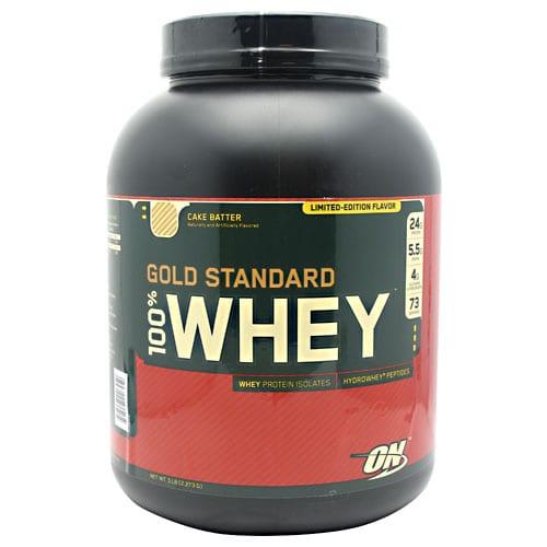 Optimum Nutrition 100% WHEY GOLD CAKE BATTER 5LB
