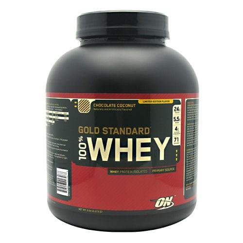 Optimum Nutrition 100% WHEY GOLD CHC COCONUT 5LB
