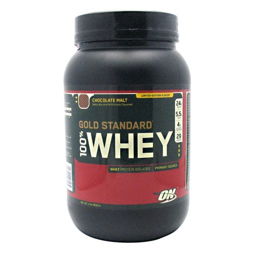 Optimum Nutrition 100% WHEY GOLD CHOC MALT 5LB