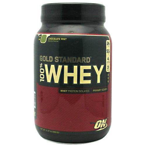 Optimum Nutrition 100% WHEY GOLD CHOC MINT 5LB