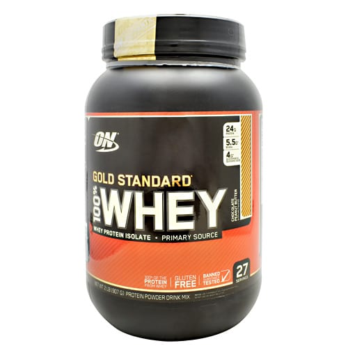Optimum Nutrition 100% WHEY GOLD CHOC PB 3.31LB