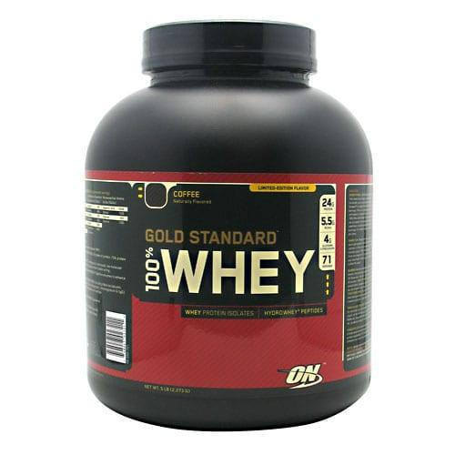 Optimum Nutrition 100% WHEY GOLD COFFEE 5LB