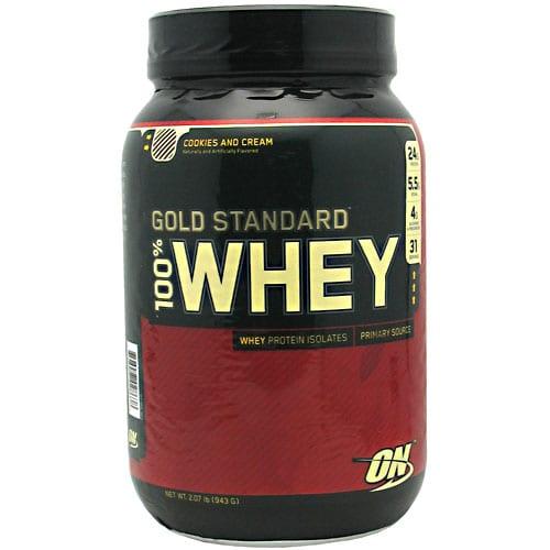 Optimum Nutrition 100% WHEY GOLD COOKIE&CRM 4LB