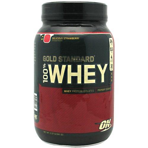 Optimum Nutrition 100% WHEY GOLD GF STRAWBRY 4LB