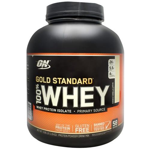 Optimum Nutrition 100% WHEY GOLD GF FR VAN 4LB