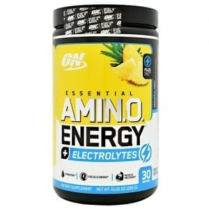 Optimum Nutrition AMINO ENERGY+ELECT PINEAPLE30/