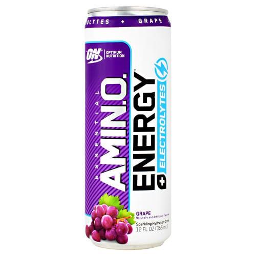 Optimum Nutrition AMINO ENERGY SPRKL RTD GRPE 12