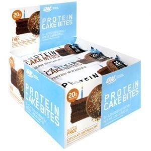 Optimum Nutrition CAKE BITES CHOC BDAY CAKE 9/BX