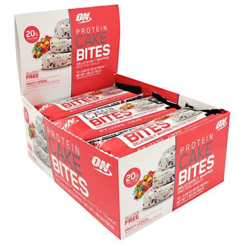 Optimum Nutrition CAKE BITES FRUITY CEREAL 12/BX