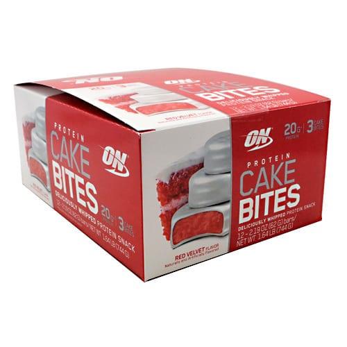 Optimum Nutrition CAKE BITES RED VELVET 12/BOX