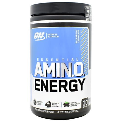 Optimum Nutrition AMINO ENERGY BLUBRY LEMADE 30/