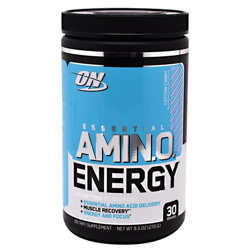 Optimum Nutrition AMINO ENERGY COTTON CANDY 30/S