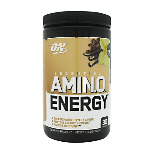Optimum Nutrition AMINO ENERGY CAFE VANILLA 30/