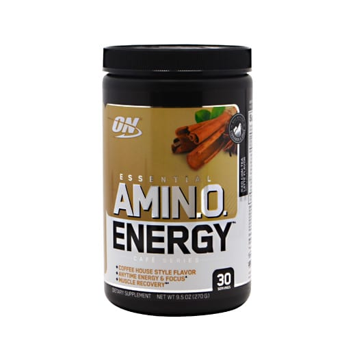 Optimum Nutrition AMINO ENERGY CAFE CHAI TEA 30/