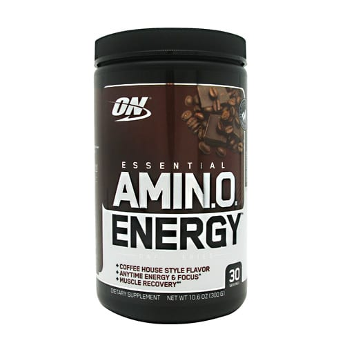 Optimum Nutrition AMINO ENERGY CAFE MCHA/CAP 30/
