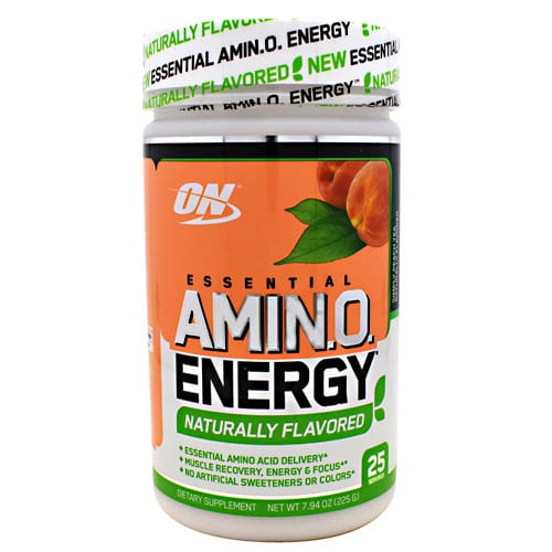 Optimum Nutrition AMINO ENERGY FREE PEACH TEA 25