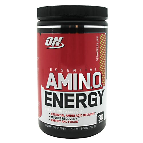 Optimum Nutrition AMINO ENERGY STRWBY LIME 30/SR