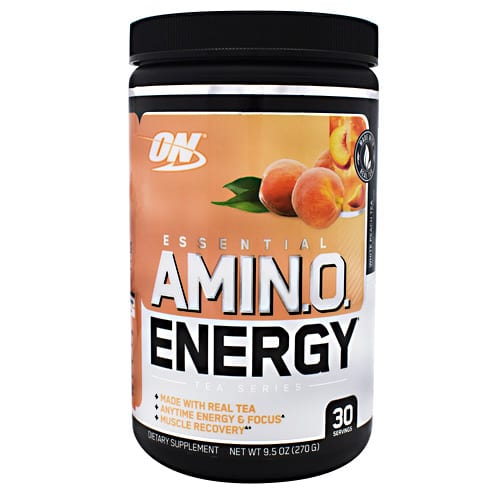 Optimum Nutrition AMINO ENERGY TEA PCH WHT 30/