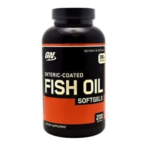 Optimum Nutrition ENTERIC COATED FISH OIL 100SFT