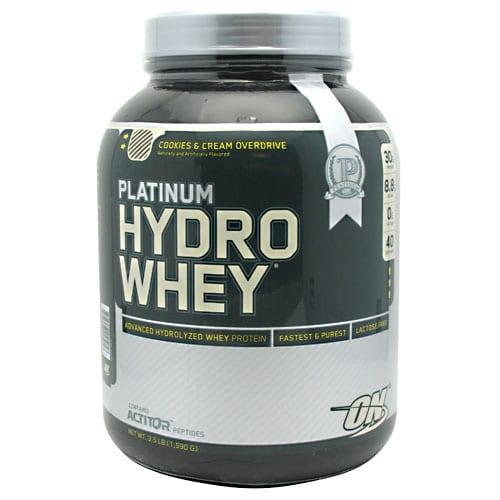 Optimum Nutrition PLATINUM HYDROWHEY C&C 3.5LB