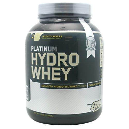 Optimum Nutrition PLATINUM HYDROWHEY VAN 1.75LB