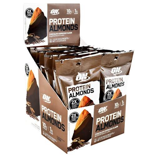 Optimum Nutrition PROTEIN ALMONDS CH ESPRESS 12/