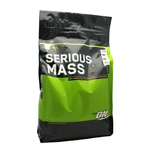 Optimum Nutrition SERIOUS MASS VANILLA 6LB