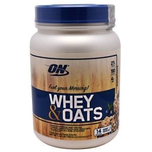 Optimum Nutrition WHEY & OATS BLUBRY MUFFIN 14/S