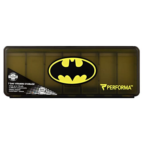 Perfectshaker BATMAN 7-DAY PILL CONTAINER