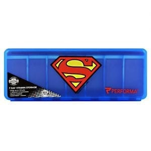Perfectshaker SUPER MAN 7-DAY PILL CONTAINER