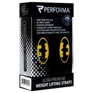 Perfectshaker LIFTING STRAPS-BATMAN