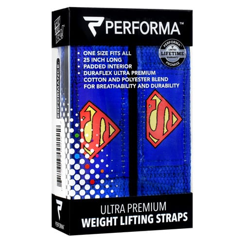 Perfectshaker LIFTING STRAPS-SUPERMAN
