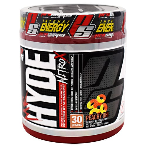 Pro Supps MR. HYDE NITRO X PEACHY OH 30/