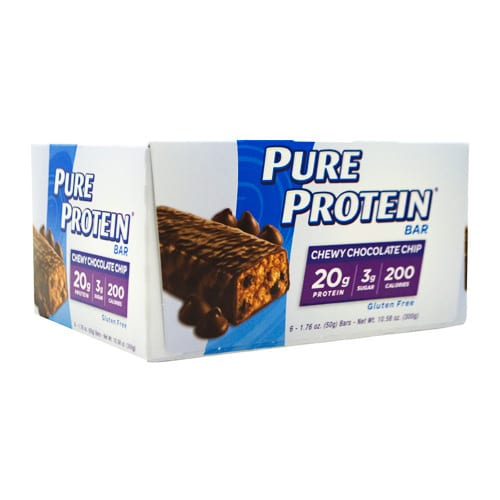 Pure Protein PURE BAR 50g CHOC CHIP 6/BX