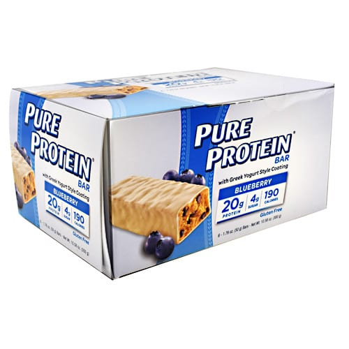 Pure Protein PURE BAR YOGURT BLUEBERRY 6/B