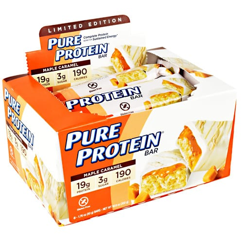 Pure Protein PURE BAR 50g MAPLE CARAMEL 6/B