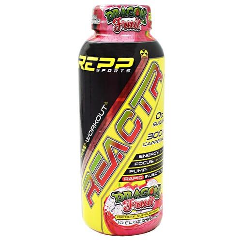 Repp Sports REACTR RTD DRAGON FRT 10oz 12/