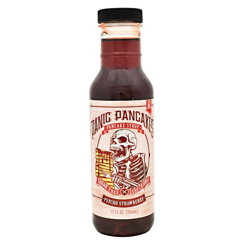 Sinister Labs PANCAKE SYRUP PYSCHO STRW 12oz