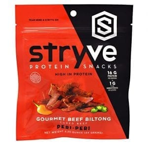 stryve foods gourmet beef biltong